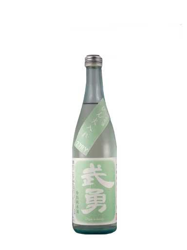 武勇 特別純米ひたち錦 無濾過原酒 壜火入れ 720ml 【茨城】