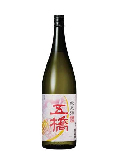 五橋 純米酒 春ラベル 1800ml 【山口】