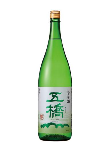五橋 純米酒 生酒 1800ml 【山口】