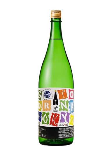 五橋 純米吟醸 GO TO DRINK GOKYO 1800ml 【山口】