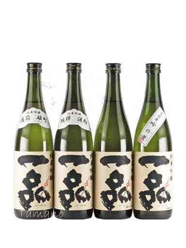 一品 純米吟醸 親子四代垂直飲み比べ 720ml 【茨城】