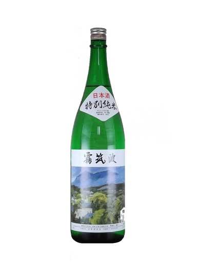 霧筑波 特別純米 1800ml