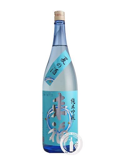 来福 純米吟醸 夏の酒 1800ml 【茨城】