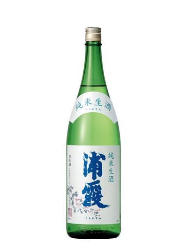 浦霞 純米生酒 1800ml 【宮城】