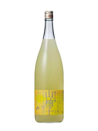 [司牡丹]山柚子搾り~ゆずの酒~ 1800ml