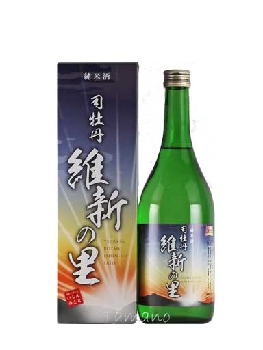 司牡丹 維新の里 純米酒 720ml 【高知】