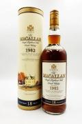 マッカラン18年旧ボトル 1982 750ml 43度