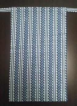 江戸小紋の紺生地でキリっと締まって見える〜丸太セレクション〜 越中 吉原つなぎ(岡生地)|ふんどし 褌の通販なら さくらい