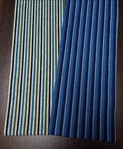 サラサラ感触〜丸太セレクション〜色糸の織りものデザイン〜六尺半幅 秋ストライプ|ふんどし 褌の通販なら さくらい