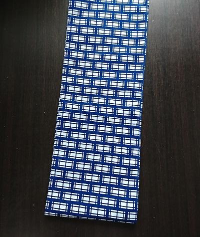 六尺半幅 青レンガ(柔らかめの徳岡生地)|紺ではなく青