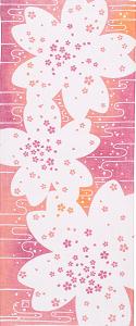 元気がもらえる日本の伝統工芸!鮮やかな手拭い〜にじゆら〜 春 さくら |ふんどし 褌の通販なら ふんどし手拭い専門店 さくらい