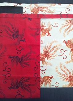 贈り物に最適。東洋の不死鳥が幸せを運ぶ~丸太セレクション! 越中 鳳凰(特岡生地)|ふんどし 褌の通販なら ふんどし手拭い専門店 さくらい