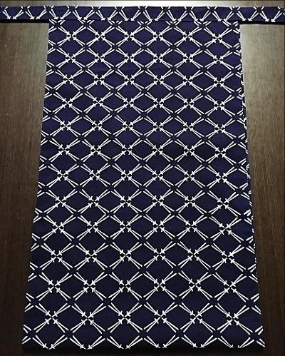 人気の紺地で使いやすいデザイン~丸太セレクション~越中 松葉(岡生地)|ふんどし 褌の通販なら さくらい