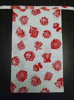 年末年始に最適!おめでたい紅白でキメる〜丸太セレクション〜 越中 紅白まとい(さらし生地)|ふんどし 褌の通販なら さくらい