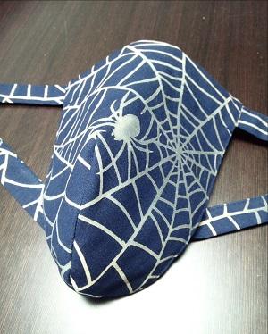 気分はスパイダーマン~幸せを運ぶ蜘蛛は縁起物なのです~丸太セレクション~ 黒猫 スパイダー(特岡生地)|ふんどし 褌の通販なら さくらい