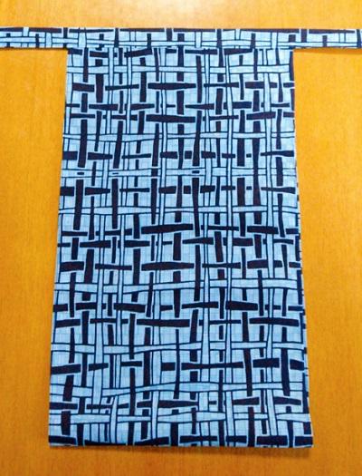 越中 水色かご(コーマ糸・綿100%)|加工糸で毛羽立ちなし