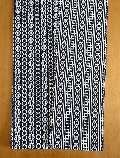 六尺半幅 夏の黒(細いコーマ糸)|薄くてスルスル触感