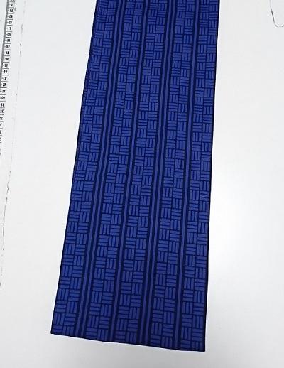 六尺半幅 三線四角(綿100%)|織りが粗くサラサラ