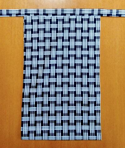 越中 三線繋ぎ(コーマ糸・綿100%)|加工糸で表面ツルツル