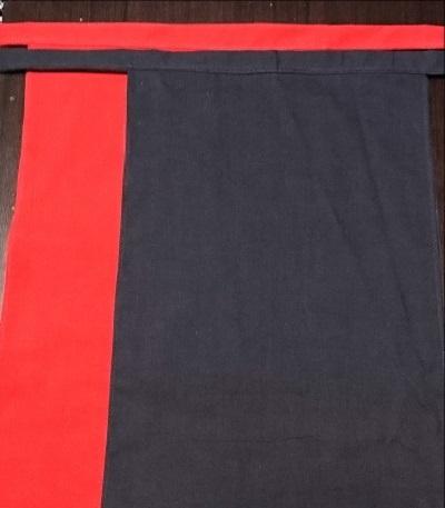 テカリのない渋い染め~武蔵野木綿で肌触りも柔らか~丸太セレクション~越中 渋赤渋黒(武蔵野木綿)|ふんどし 褌の通販なら さくらい