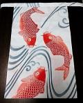 鯉の滝のぼりで運勢も上々〜粋なデザイン〜贈り物にも最適〜丸太セレクション〜越中95 赤鯉(徳岡生地)|ふんどし 褌の通販なら さくらい