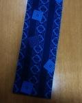 六尺半幅 青吉原(少し厚みのある特岡生地)|珍しい青の吉原繋ぎ