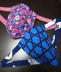 青色のデザインで春らしく見せる〜限定各4枚のみ〜丸太セレクション 黒猫 春の青 |ふんどし 褌の通販なら さくらい