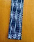 六尺半幅 梯子三連 (コーマ糸・綿100%)|加工糸で表面ツルツル