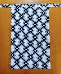 越中 稲妻 (綿100%)|白地の黒でシャキーンと見せる