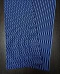 珍しい青紺地で裏表がある〜どちらを表にするかリクエストできる〜六尺半幅 紺リバーシブル(特岡生地)|ふんどし 褌の通販なら さくらい