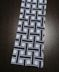 六尺半幅 縄編み(特岡生地)|大きな編みで大胆