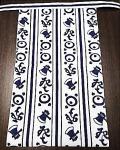 人気の白地に紺のデザイン~江戸の流行柄「よきこときく」~丸太セレクション~越中 よきこときく 白(特岡生地)|ふんどし 褌の通販なら さくらい