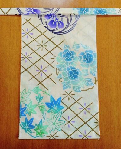 越中 初夏(特岡生地)|青緑がキレイ