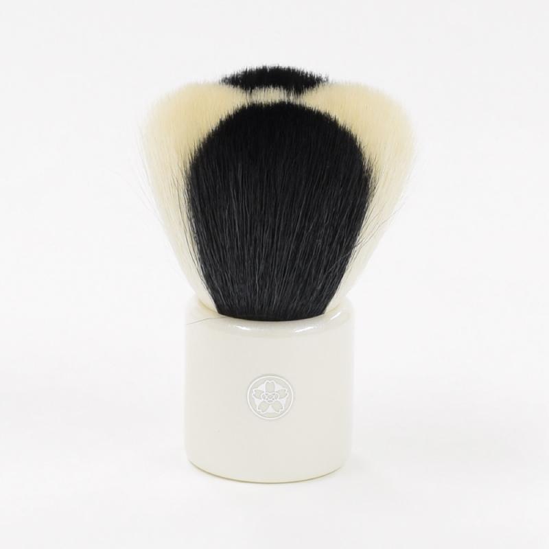 hana-2 熊野筆 化粧はな筆 モダン チークブラシ 山羊毛100%