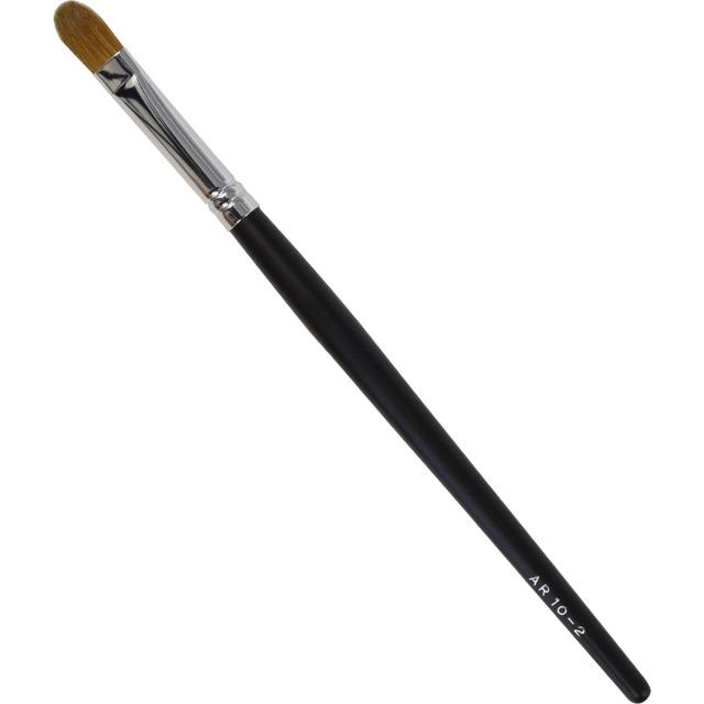 【ネコポス対応可能】黒軸ロングタイプ ARBS10-2  アイシャドーブラシ コリンスキー100%  化粧筆 プロ仕様 メイクブラシ さくら筆 熊野筆