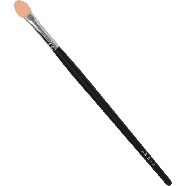 【ネコポス対応可能】黒軸ロングタイプ ARBS8-2 アイシャドーチップ HZウレタン  化粧筆 プロ仕様 メイクブラシ