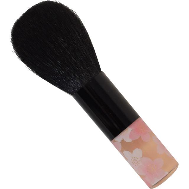 【ネコポス対応可能】 BP-1 べっぴん桜筆パウダーブラシ 山羊毛100% さくら筆 熊野筆