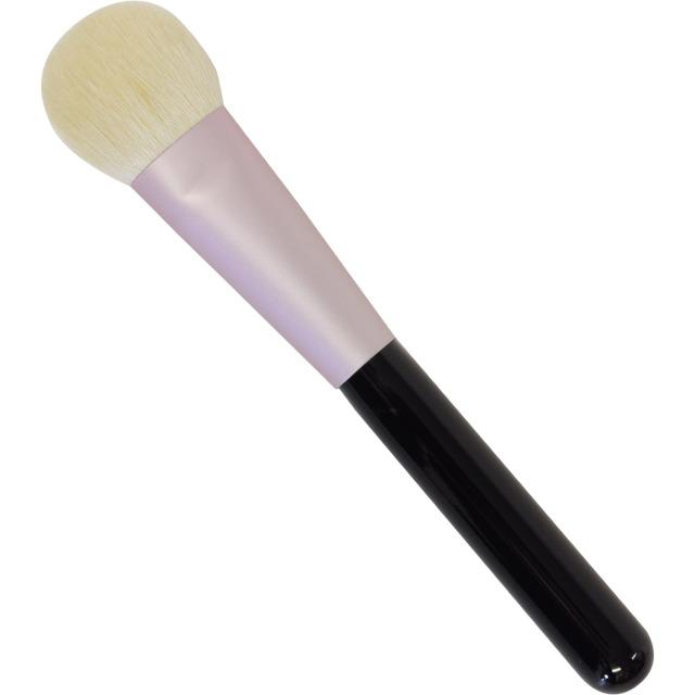【ネコポス対応可能】 MU-1 リキッドファンデーションブラシ 山羊毛100% 熊野筆