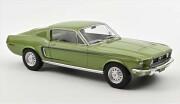 予約品 2022年5月頃 ミニカー NOREV(ノレブ) (開閉機構無) 1/12 122704 フォード マスタング ファストバック GT 1968 メタリックライトグリーン 3551091227045