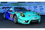 予約品 2022年4月頃 ミニカー SPARK(スパーク) レジンモデル 1/18 18SG055 ポルシェ Porsche 911 GT3 R No.44 Falken Motorsports 4位 24H Nurburgring 2021 K. Bachler M. Ragginger S. Muller A. Picariello 9580006480552