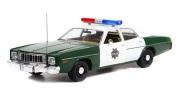 予約品 2022年5月頃 ミニカー GreenLight(グリーンライト) Artisan Collection ダイキャストモデル 1/18 19116 プリムスヒューリー 1975 Plymouth Fury - Capitol City Police 810027496751