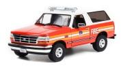 予約品 2022年5月頃 ミニカー GREENLIGHT(グリーンライト) Artisan Collection ダイキャストモデル 1/18 19118 フォードブロンコ ニューヨーク市消防署 1996 Ford Bronco FDNY (The Official Fire Department City of New York)  810027496843