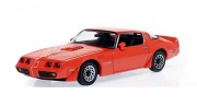 予約品 2022年5月頃 ミニカー GREENLIGHT(グリーンライト) ダイキャストモデル 1/43 86349 ポンティアック ファイアーバード 1979 Pontiac Firebird Trans Am Hardtop - Mayan Red with Hood Phoenix  810027495501