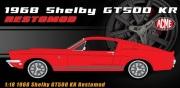 予約品 2022年6月頃 ミニカー ACME ダイキャストモデル 1/18 A1801850 シェルビー 1968 Shelby GT500 KR Restomod - New School