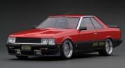 予約品 2022年6月頃 ミニカー ignition model(イグニッションモデル) 1/18 IG2349 日産スカイライン Nissan Skyline 2000 RS-Turbo (R30) Red/Black  生産数120pcs 4573448893498