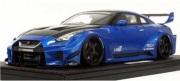 予約品 2022年4月頃 ミニカー ignition model(イグニッションモデル) 1/18 IG2355 日産 LB-Silhouette WORKS GT Nissan 35GT-RR Blue Metallic 生産数:120pcs 4573448893559