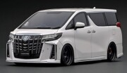 予約品 2022年5月頃 ミニカー ignition model(イグニッションモデル) 1/18 IG2431 トヨタアルファード Toyota Alphard (H30W) Executive Lounge S Pearl White  生産数120pcs 4573448894310