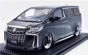 予約品 2022年4月頃 ミニカー ignition model(イグニッションモデル) 1/18 IG2432 トヨタアルファード Toyota Alphard (H30W) Executive Lounge S Black 生産数:120pcs 4573448894327