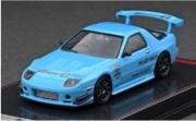 予約品 2022年3月頃 ミニカー ignition model(イグニッションモデル) 1/64 IG2498 マツダ雨宮 Mazda RX-7 (FC3S) RE Amemiya Light Blue 4573448894983