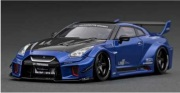 予約品 2022年2月頃 ミニカー ignition model(イグニッションモデル) 1/43 IG2544 日産 LB-Silhouette WORKS GT Nissan 35GT-RR Blue Metallic 生産数:100pcs 4573448895447